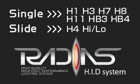 HID,RADIAS,ラディアス